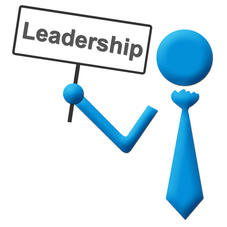 signboard: Leadership Signboard Stock Photo