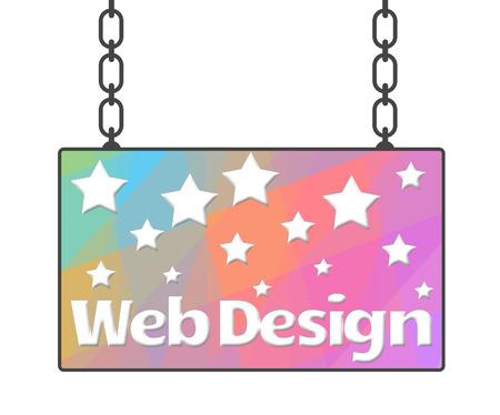 signboard design: Web Design Signboard