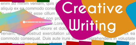 creative writing: Creative Writing Colorful Banner