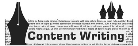 content writing: Content Writing Block Vertical Pens
