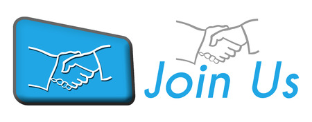 join: Join Us Blue Triangle