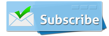 subscribe: Subscribe Blue Squares