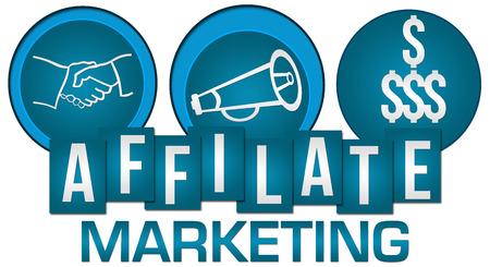 Affiliate Marketing Three Circles Stripes photo