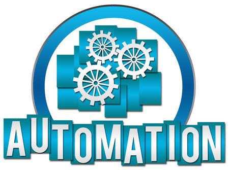 productivity system: Automation Circle Stripes