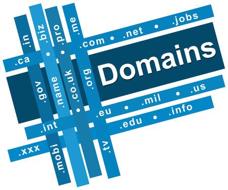 domains: Domains Blue Stripes Square