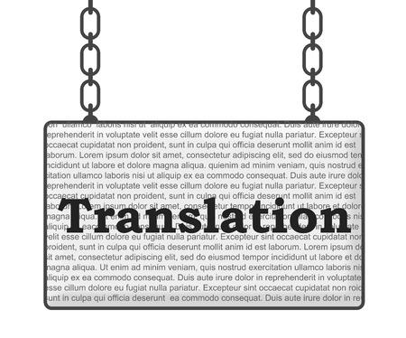 decipher: Translation Signboard