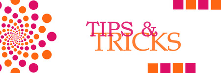 womanish: Tips And Tricks Pink Orange