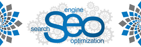 seo: Seo With Gears Abstract Element