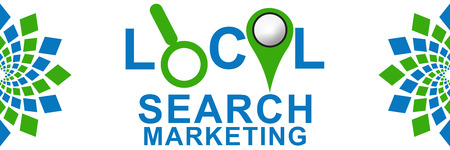 targeted: Local Search Marketing Green Blue