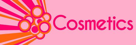 beautification: Cosmetics Pink Orange Rings