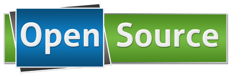 opensource: Open Source Green Blue Button Style