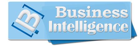 bi: BI - Business Intelligence Blue Squares
