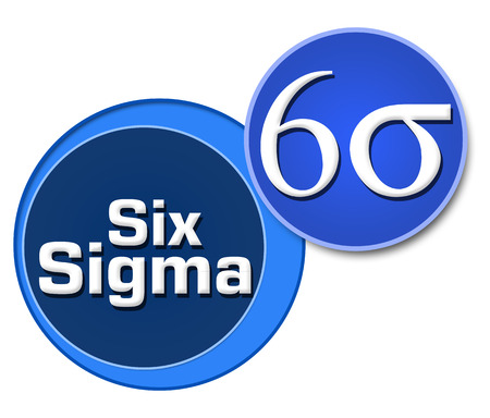 Six Sigma Two Blue Circles
