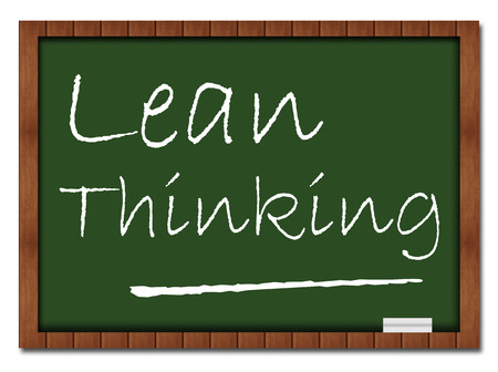 systems thinking: Lean Thinking Classroom Board
