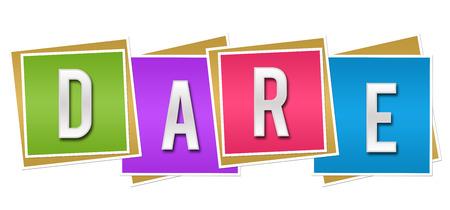 dare: Dare Colorful Blocks