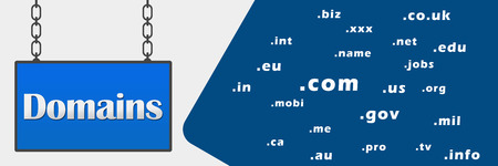 domains: Domains Signboard Horizontal