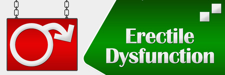 dysfunction: Erectile Dysfunction Signboard Horizontal