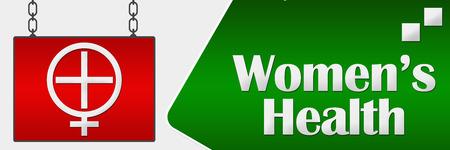 Women's health: Womens Health Signboard Horizontal