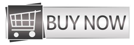 black button: Buy Now Grey Black Button Style
