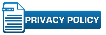 end user: Privacy Policy File Icon Horizontal