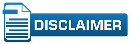 Disclaimer File Icon Horizontal Standard-Bild