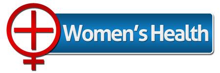 simbolo de la mujer: Salud de la Mujer Con El Símbolo Relacionados Foto de archivo