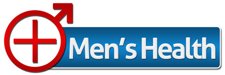 men's: Mens Health With Related Symbol Stock Photo