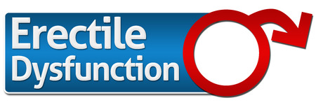 erectile: Erectile Dysfunction With Symbol