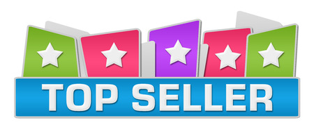 top seller: Top Seller Colorful Squares On Top