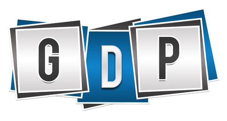 capita: GDP Blue Grey Blocks