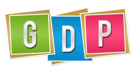 capita: GDP Colorful Blocks