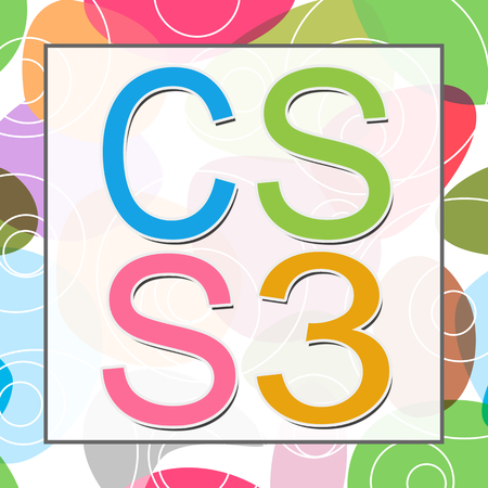 css: CSS 3 Colorful Background