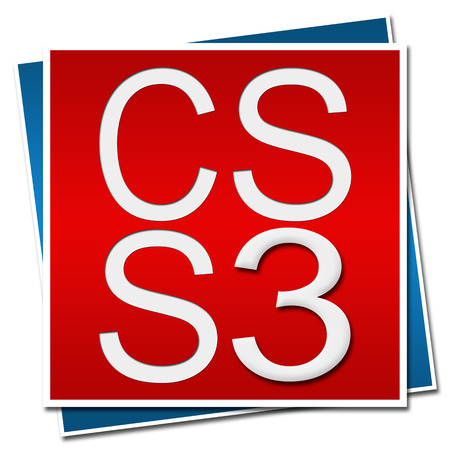 css: CSS 3 Red Blue Background