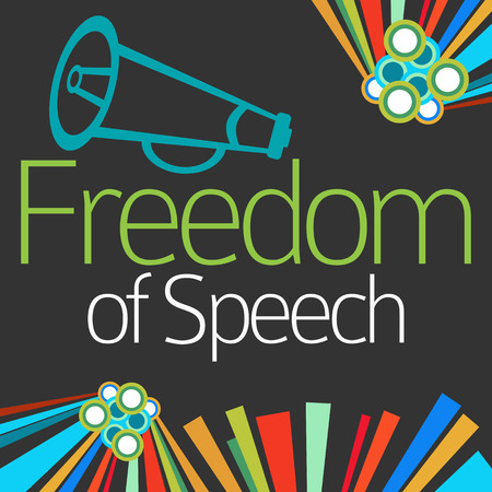censor: Freedom Of Speech Dark Colorful Elements