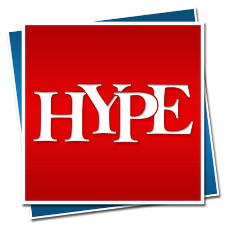 hype: Hype Text Red Blue Blocks