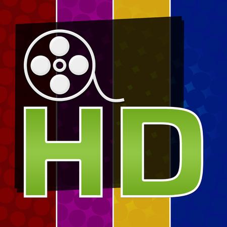 fullhd: HD Colorful Halftone