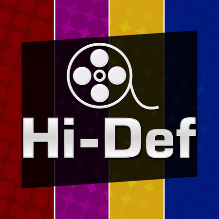 high def: Hi-Def Colorful Halftone Background Stock Photo