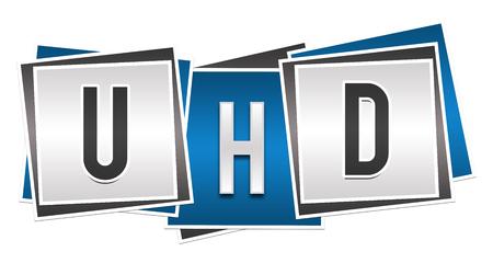 high def: UHD Blue Grey Blocks