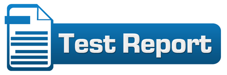 report icon: Test Report File Icon Horizontal