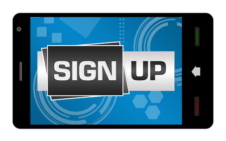 signup: Sign Up Smartphone