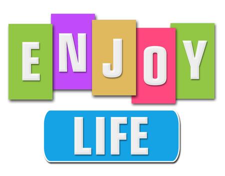 enjoy life: Enjoy Life Colorful Stripes