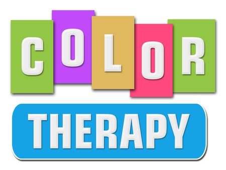 color therapy: Color Therapy Colorful Stripes