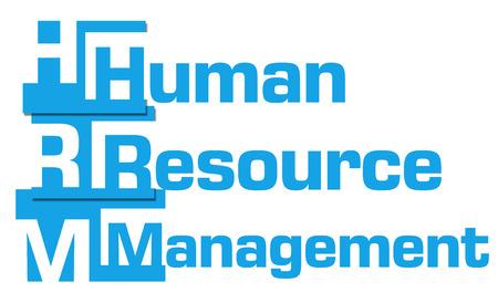 resource: Human Resource Management Blue  Stripes Stock Photo