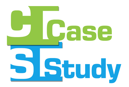 case study: Case Study Abstract Colorful Stripes