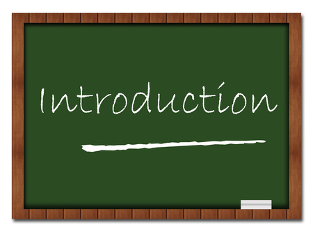 greenboard: Introduction Text Classroom Board