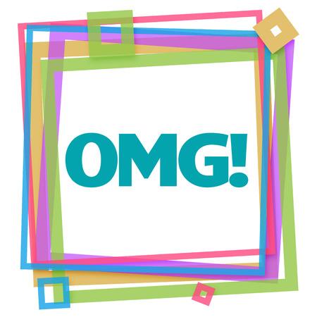 gosh: OMG Colorful Frame