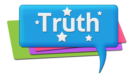 truth: Truth Colorful Comments Symbols