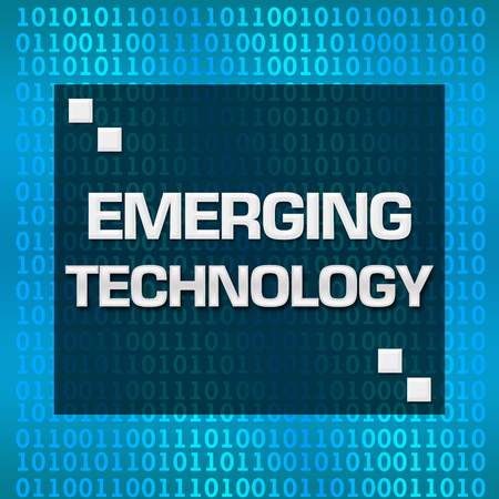 emerging: Emerging Technology Binary Background