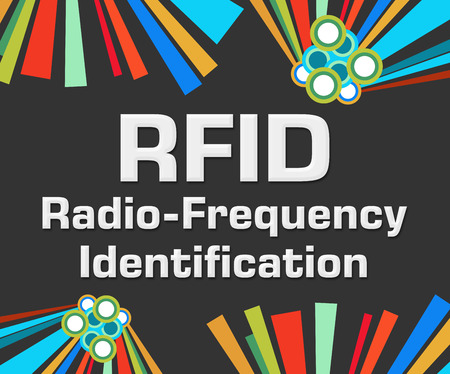 rfid: RFID Dark Colorful Elements