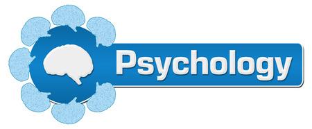 horizontal: Psychology Circular Brain Horizontal